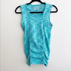 Athleta 'Breathe' Seamless Ruched Side Tank Top